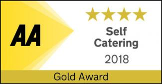 AA 4 star Gold award