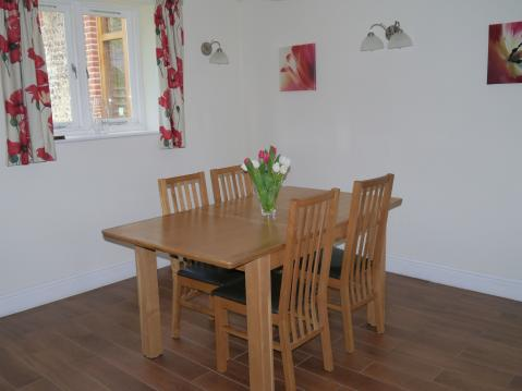 1 Moatside Dining Area seating 4